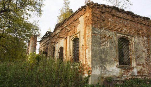Тульская обл., Белевский р-н, с. Николо-Гастунь. Осень 2014.