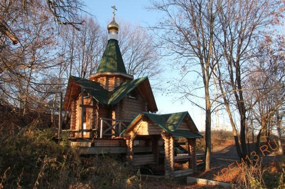 Старый монастырский источник.