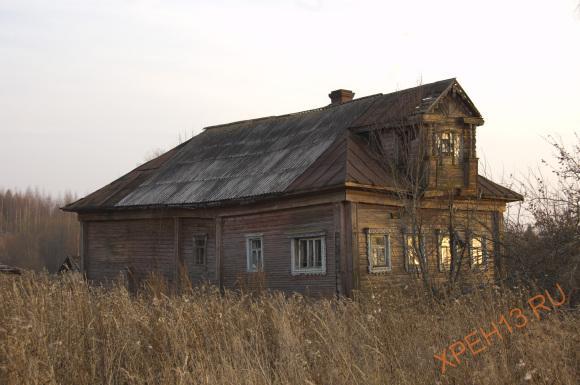 Костромская обл., Чухломский р-н., д. Сиднево. Осень 2014.