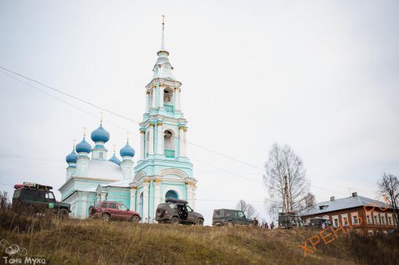 Церковь Введения Пресвятой Богородицы во Храм, что на реке Виге, 1800.