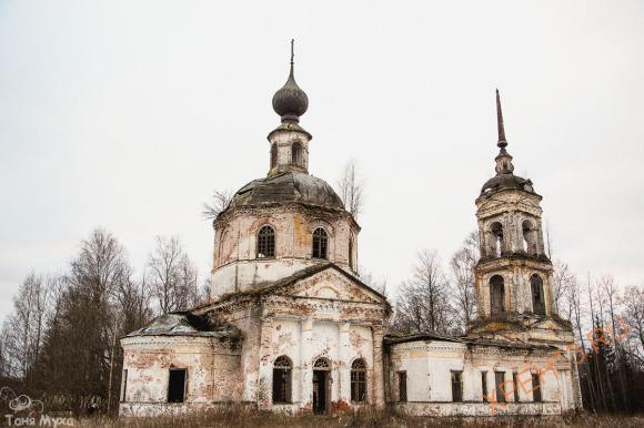 Церковь Рождества Христова (Ильинчкая), что в Великой Пустыни, 1815.