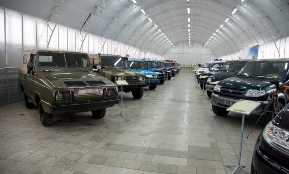 г. Ульяновск. Автозавод УАЗ, музей. Осень 2014.