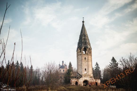 Храмовый комплекс в Высоко.