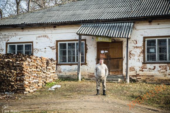 Костромская обл., Чухломский р-н, с. Торманово. Осень 2014.