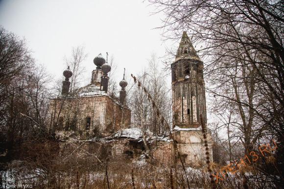 Костромская обл., Сусанинский р-н., д. Исупово. Осень 2014.