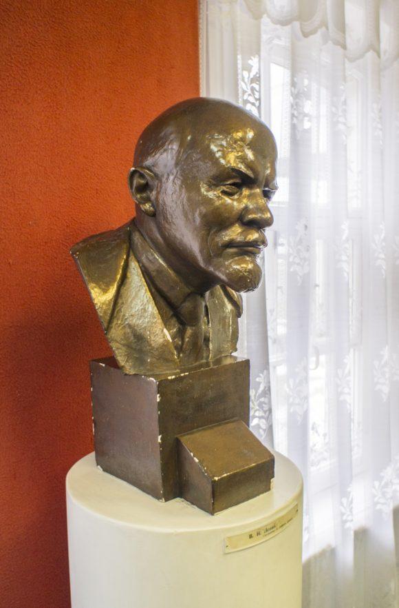 Прижизненная скульптура, сделанная с Владимира Ильича.