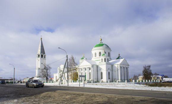 Церковь Иконы Божией Матери Смоленская в Выездной Слободе, 1803-1815.