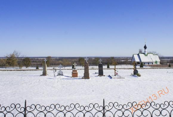 Некрополь Спасского монастыря.