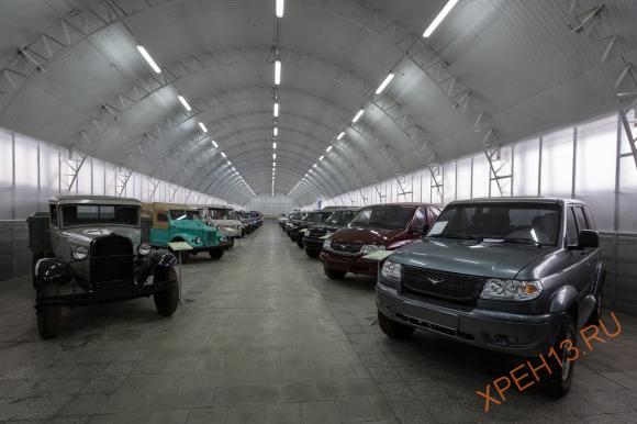 В музее представлен весь автомобильный ряд УАЗ, автомобили пошедшие и не пошедшие в серию. В музее представлен весь автомобильный ряд УАЗ, автомобили пошедшие и не пошедшие в серию.