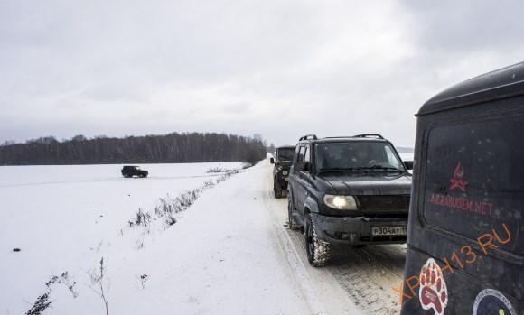 Тарусский район Калужской области. Зима 2015.