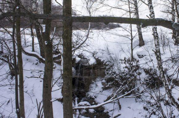 д. Кислино, Жуковский район Калужской области. Зима 2015.