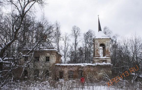 Калужская обл., Жуковский р-н, ур. Покров-Полея. Зима 2015.