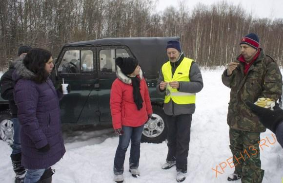 Калужская обл., Жуковский р-н, ур. Почеп. Зима 2015.