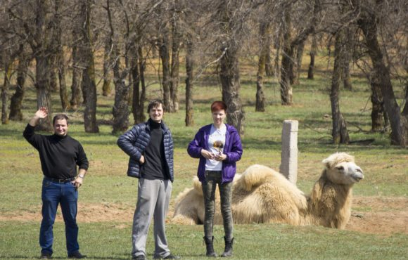 Ахтубинский район Астраханской области. Весна 2015.