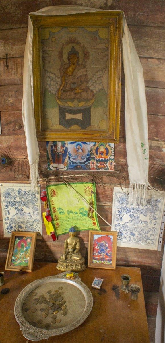 Икона Будды.