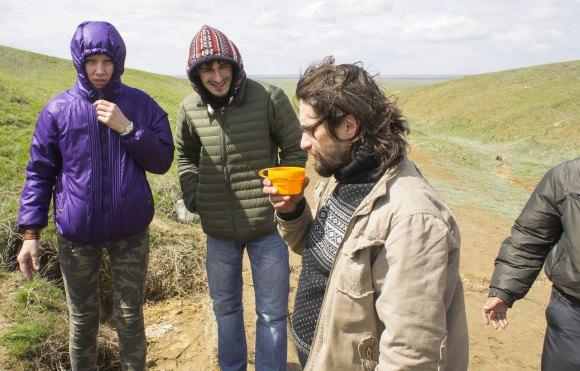 окрестности пос. Хар-Булук Целинного района респ. Калмыкия. Весна 2015.