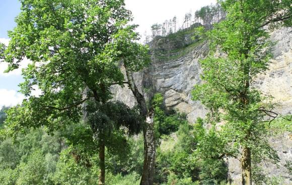 респ. Башкортостан, Ишимбайский район, скала Калим-Ускан с пещерой Салавата Юлаева, Лето 2015.