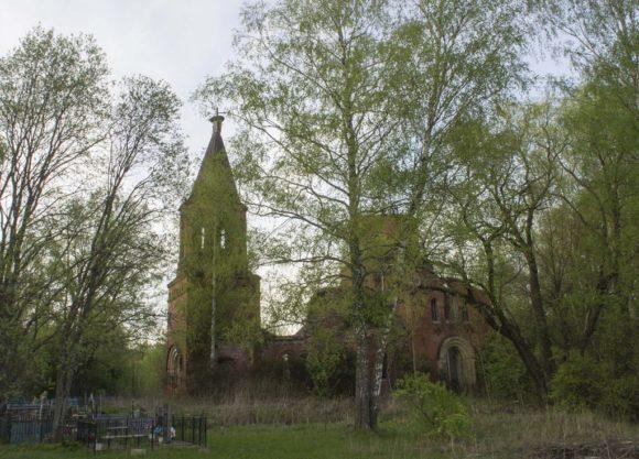 Калужская область, Медынский район, село Гребенкино(Наумовщина). Весна 2015.