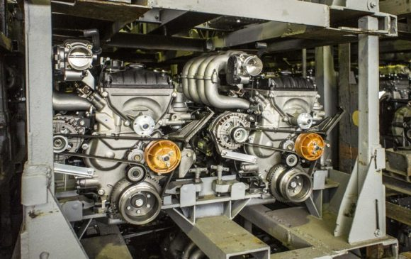 Двигатели, подготовленные для отгрузки в ПАО «УАЗ»