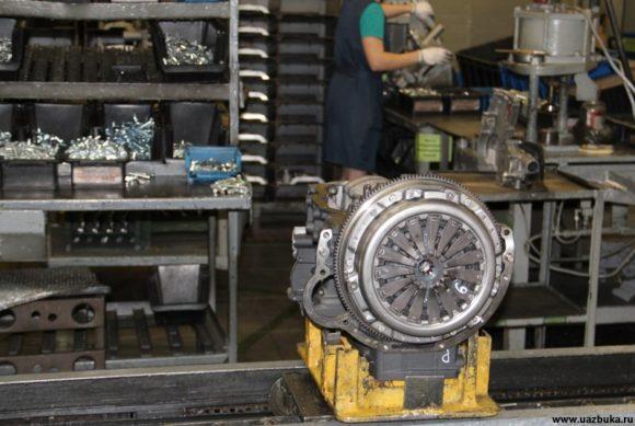 Двигатель ЗМЗ 40905.10 на I сборочном конвейере