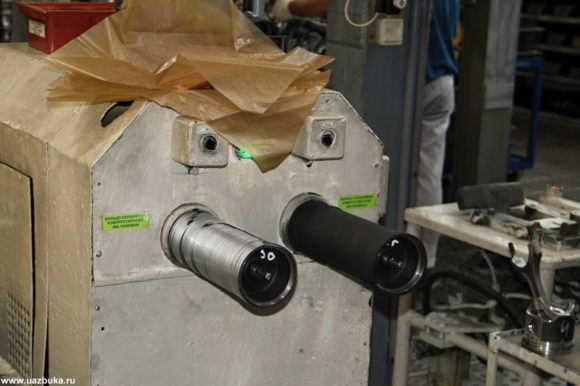 Установка надевания поршневых колец для двигателя ЗМЗ 52342.10