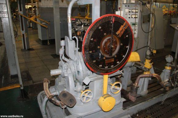 Стенд для снятия контрольной точки двигателей ЗМЗ 52342.10