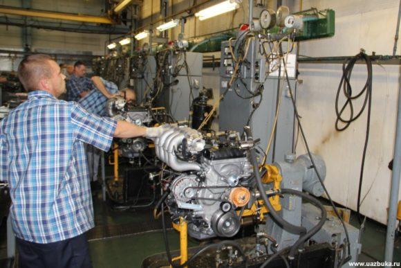 Стенды для ремонта и испытания двигателей ЗМЗ 40905.10