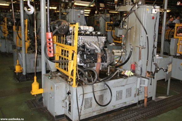 Стенды для обкатки двигателей ЗМЗ 409.10