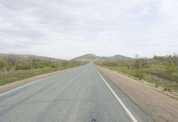 Оренбуржье, южные отроги Уральских гор.