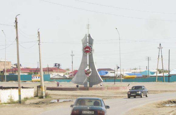 г. Аральск Кызылординская область, Казахстан. Весна 2016.