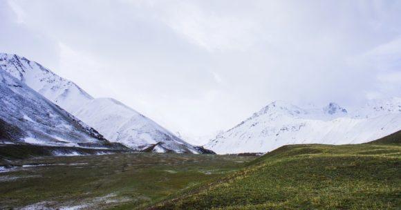 Алайский район Ошской области Кыргызстана. Весна 2016.