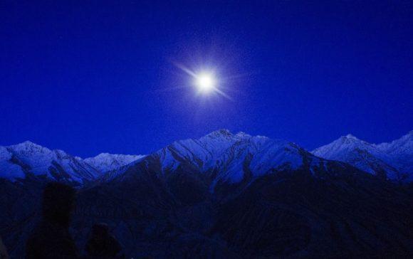Афганская ночь. Сегодня было невероятно красиво!