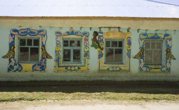 Самый богато украшенный дом.
