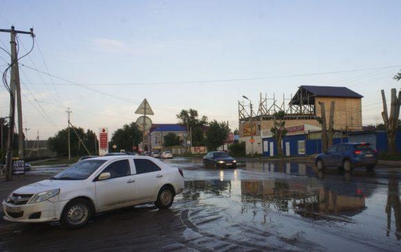 Вечерняя Астрахань.