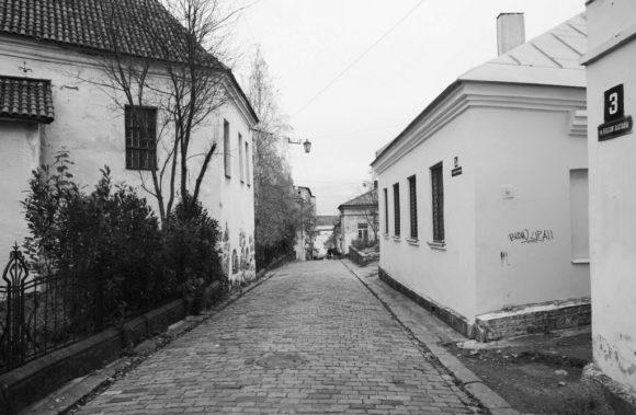 Улица Воной Заставы - одна из старейших в Выборге.