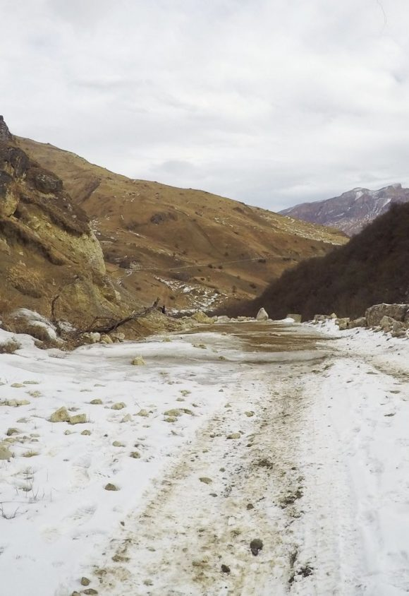Кавказ. Зима 2016.
