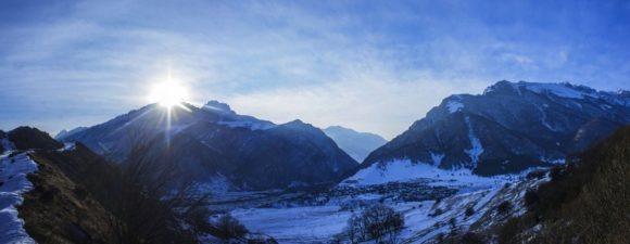 Республики Северная Осетия — Алания. Зима 2016.