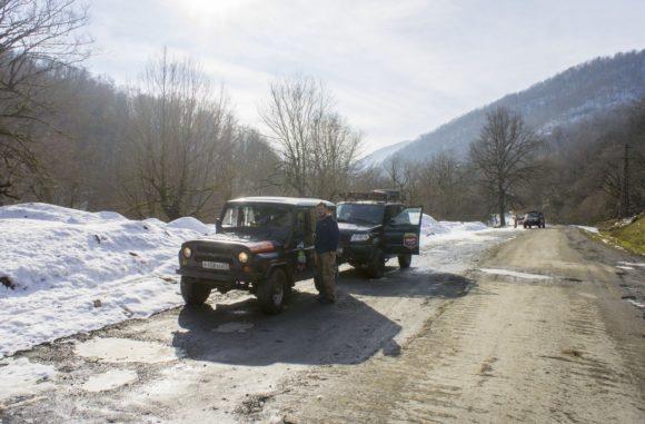 Грузия, Кахетия. Зима 2016.