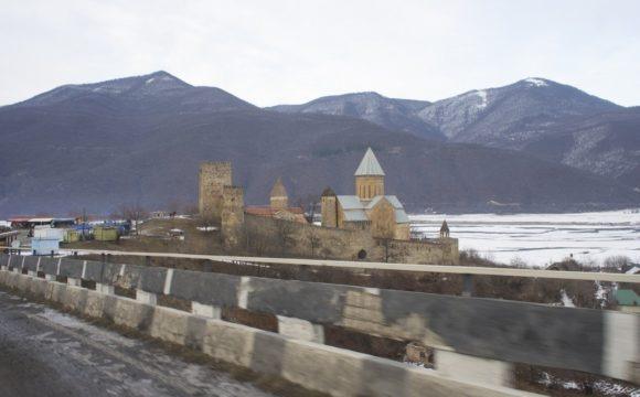 Крепость Ананури -