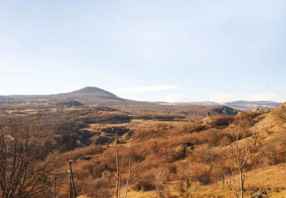 Вид от лагеря.
