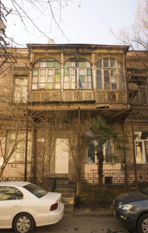 Грузия. Тбилиси. Зима 2017.