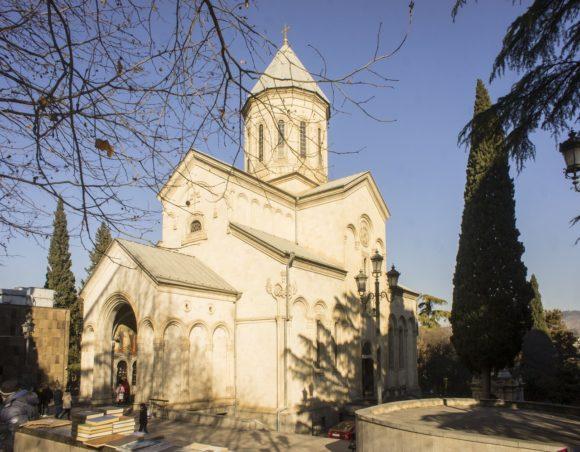 Церковь Кашвети (церковь святого Георгия), построенная в 1904-1910 гг.