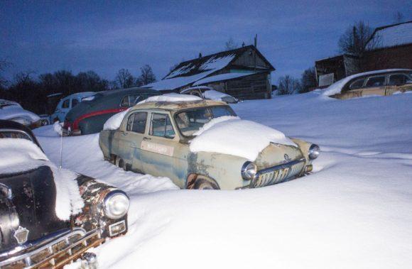 Тульская область, Чернский район, д. Черноусово. Зима 2017.