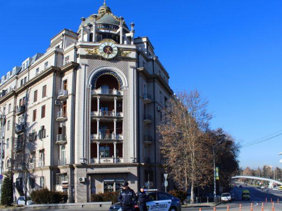 Красивый жилой дом по улице Бараташвили.