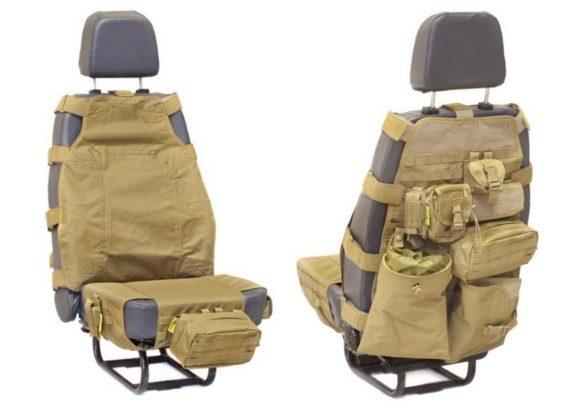Чехол-разгрузка, чехол-органайзер для передних сидений.