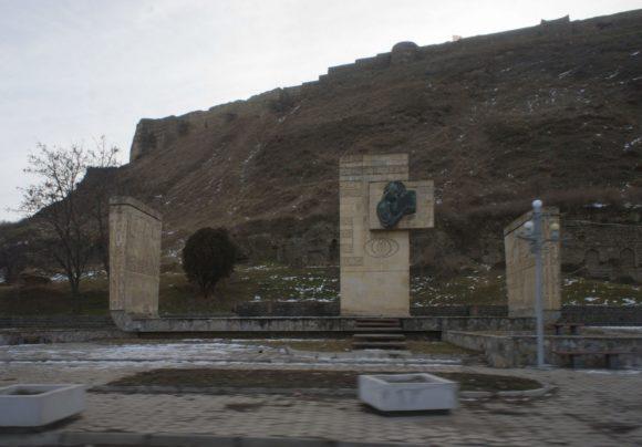 Памятник Шота Руставели.