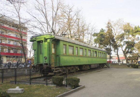 личный железнодорожный салон-вагон Сталина