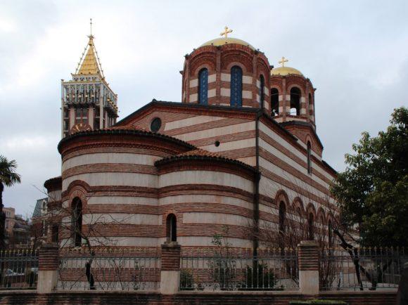 """Греческая Православная Церковь """"Святого Николая"""" более 150 лет, и она является одной из старейших в городе."""