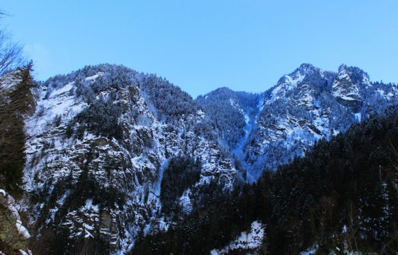 Грузия, Верхняя Сванетия. Зима 2017.